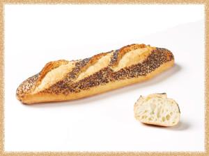 Poppy seed half-baguette «Essential» 140g
